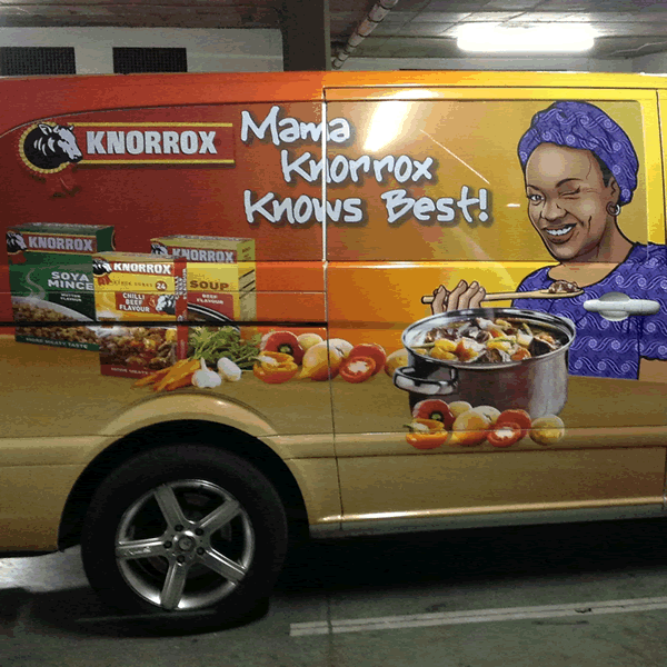 Vehicle Branding Example 3