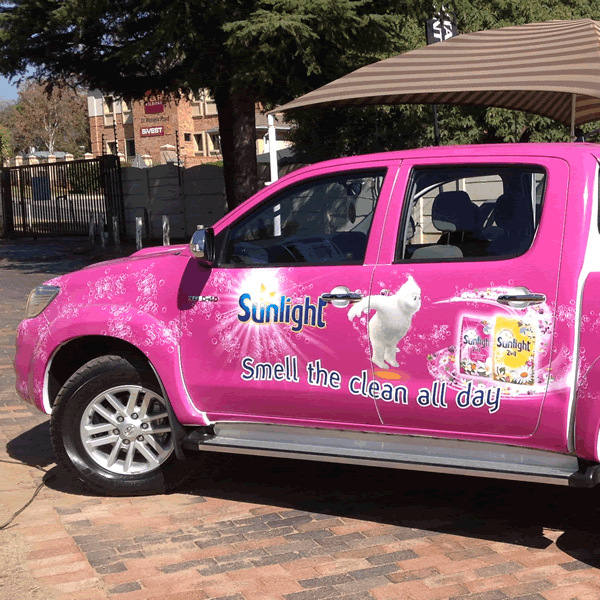 Vehicle Branding Example 4