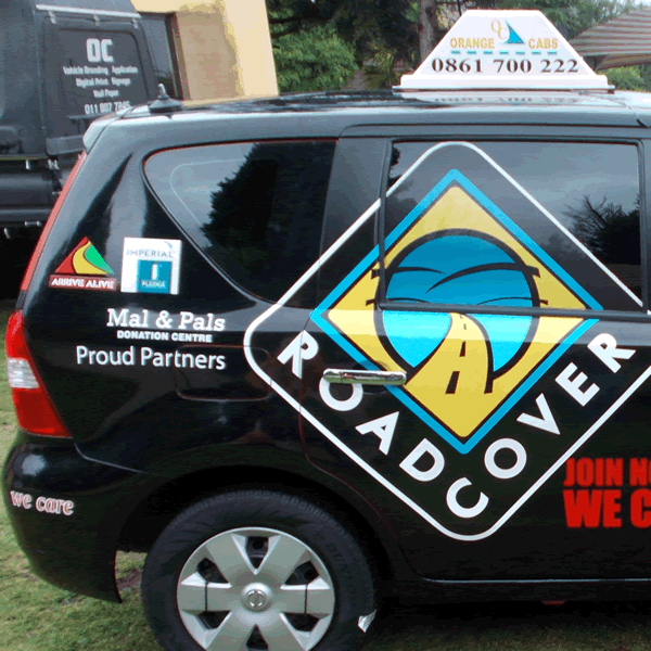 Vehicle Branding Example 7